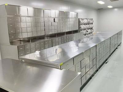捷斯林不锈钢药品柜颠覆传统 为春风药业打造现代化的煎药中心