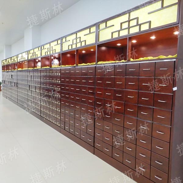 钢木结合中药柜AS-102